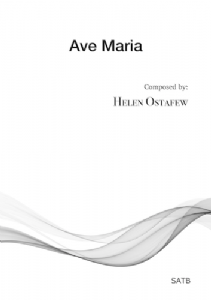 Ave Maria (Helen Ostafew) multi-copy digital edition